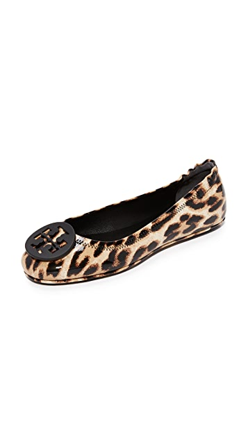 d9dc7e317a2 Tory Burch Minnie Travel Ballet Flats