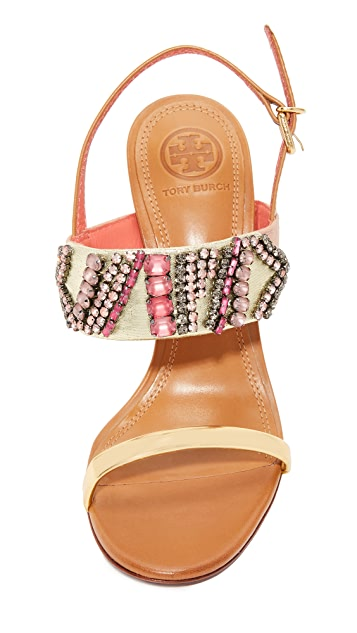 Tory Burch Tanner 100mm Sandals