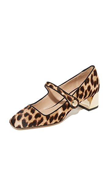Tory Burch Marisa 40mm Mary Jane Pumps