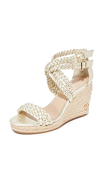 aaab0cbcaa8 Tory Burch Bailey Ankle Strap Wedge Espadrilles