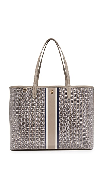 Tory Burch Gemini Link Tote - French Grey