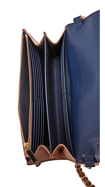 Tory Burch Parker Chain Wallet