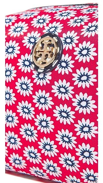 Tory Burch Printed Nylon Brigitte Cosmetic Case