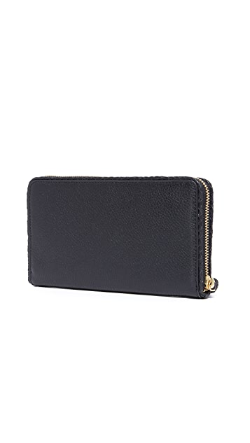 Tory Burch Taylor Zip Continental Wallet