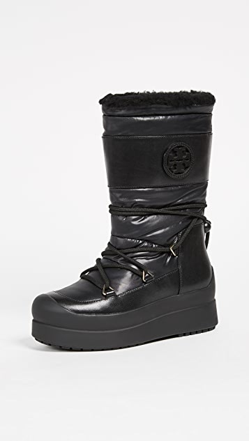 Tory Burch Cliff Snow Boots