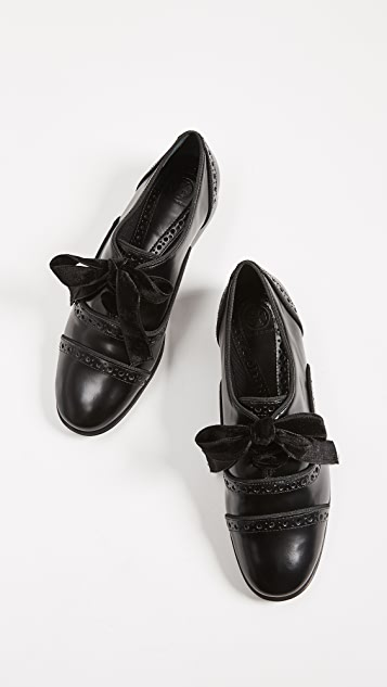 Tory Burch Haverford Lace Up Oxfords