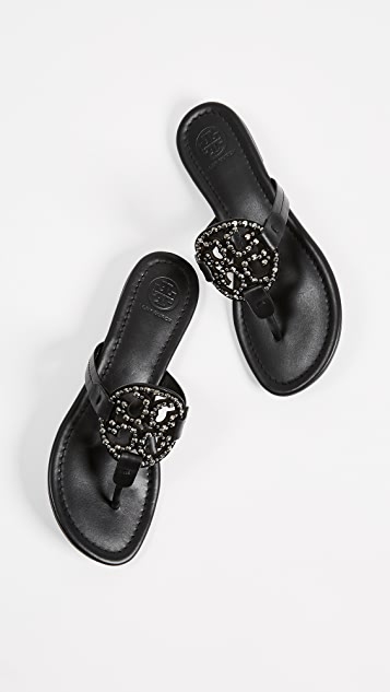 Tory Burch Miller Embellished Sandals