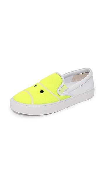 Tory Burch Tory Sport Tennis Felt Sneakers ...