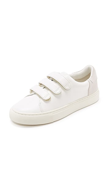 Tory Burch Tory Sport Colorblock Velcro Sneakers ...