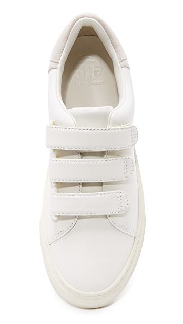 Tory Burch Tory Sport Colorblock Velcro Sneakers