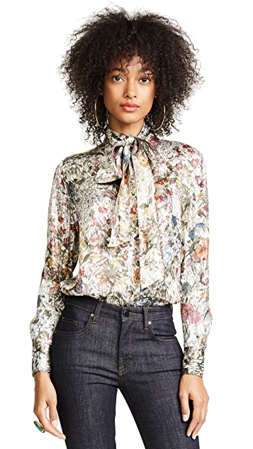 Tory Burch Vanessa Bow Blouse