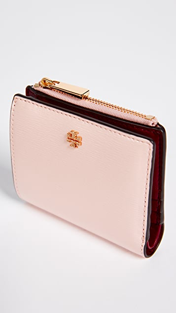 Tory Burch Robinson Patent Mini Wallet