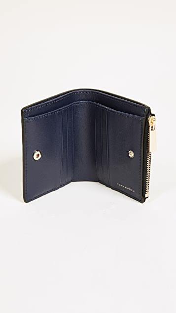 Tory Burch Robinson Patent Mini Wallet