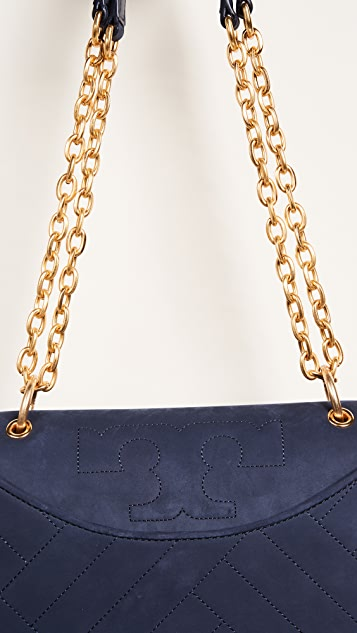 Tory Burch Alexa Suede Shoulder Bag
