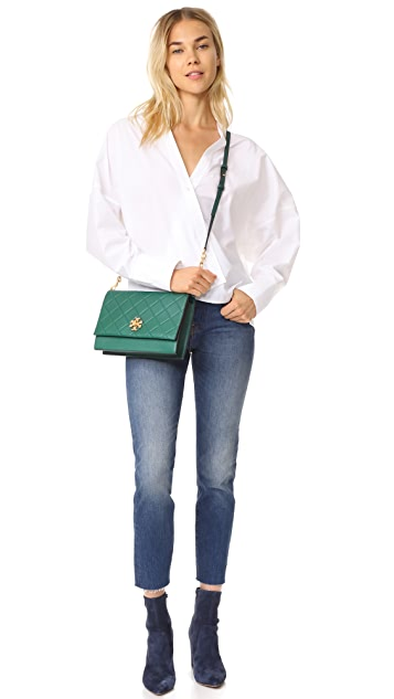 Tory Burch Georgia Convertible Cross Body Bag