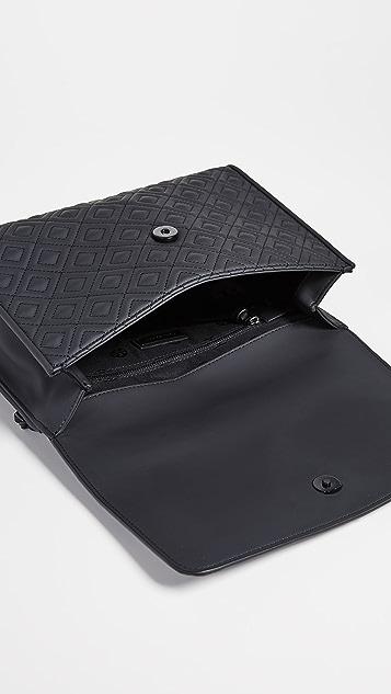 Tory Burch Матовая сумка на ремне Fleming