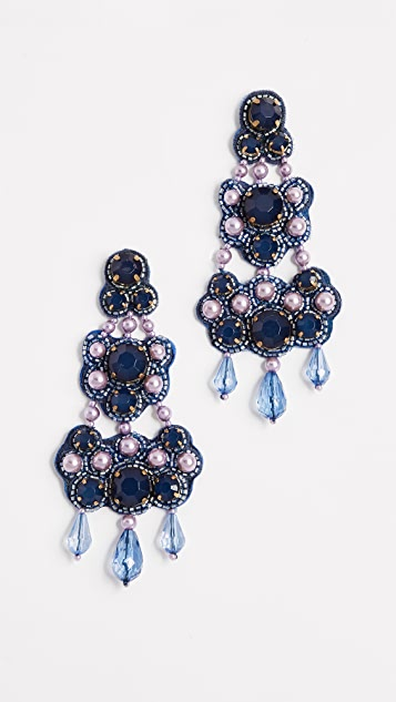 Tory Burch Beaded Chandelier Earring EXufvOY9