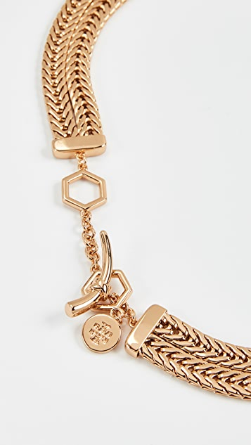 Tory Burch Chain Short Necklace