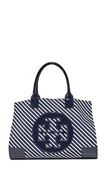 Tory Burch Nylon Ella Stripe Tote
