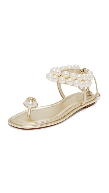 553750769e7 Tory Burch Melody Ankle Strap Sandals