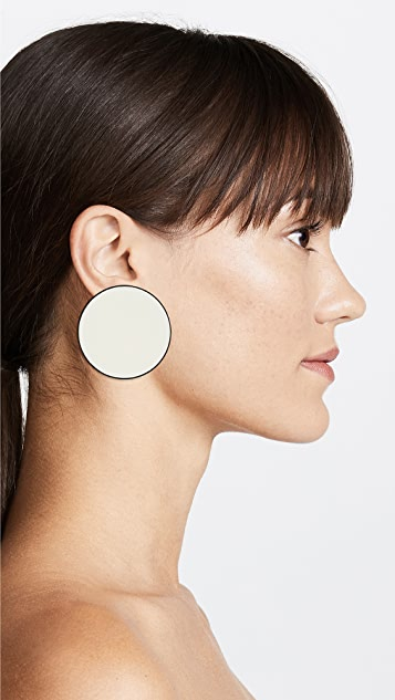 Tory Burch Enamel Disk Earrings