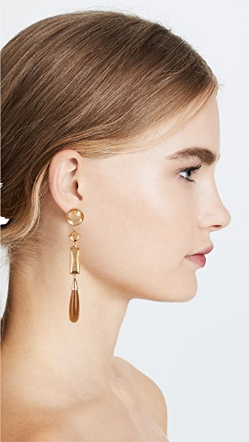 Tory Burch Embellished Linear Earrings