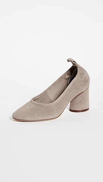 Tory Burch Therese 65mm Suede Pumps