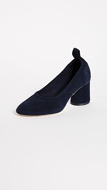 Tory Burch Therese Brooke 65mm Suede Pumps