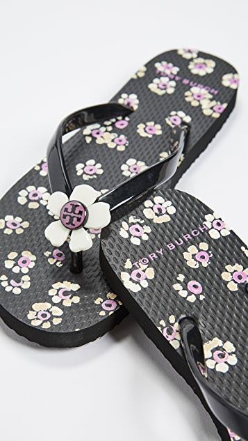 Tory burch flower flip flops shopbop tory burch flower flip flops mightylinksfo