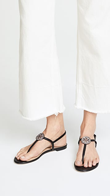 ... Tory Burch Liana Flat Sandals ...