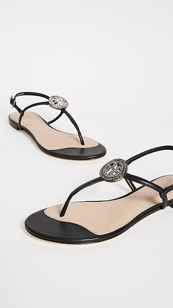 Tory Burch Liana Flat Sandals