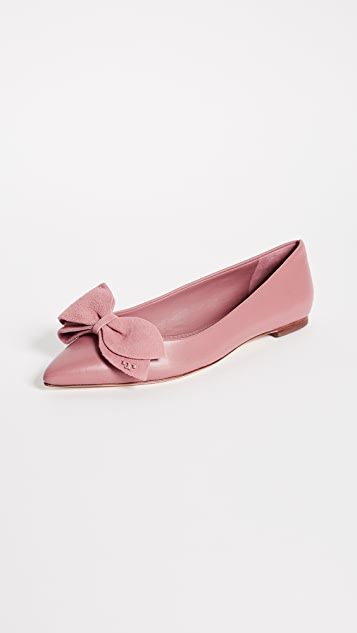 55d443ba91b8 Tory Burch Rosalind Ballet Flats
