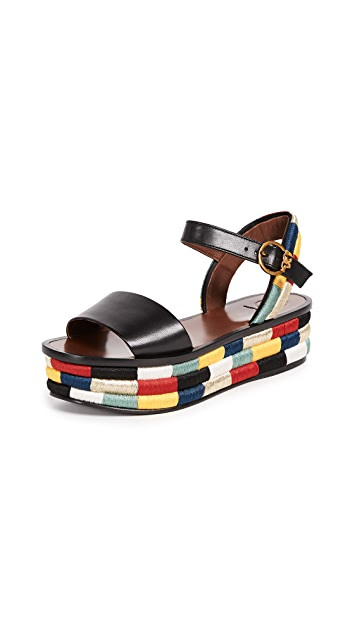 Tory Burch Camilla 40mm Platform Sandals
