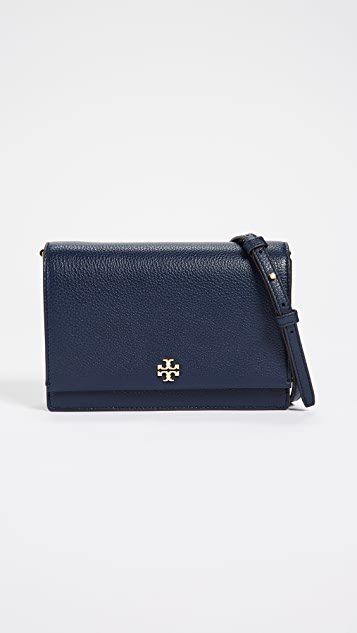 8cdbbeb39be8 Tory Burch Georgia Pebbled Leather Cross Body Bag