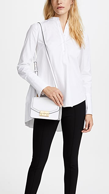 Tory Burch Juliette Mini Top Handle Cross Body Bag