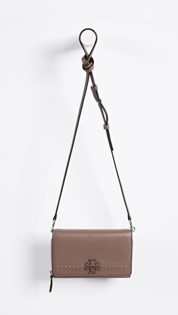 Tory Burch McGraw Flat Cross Body Bag