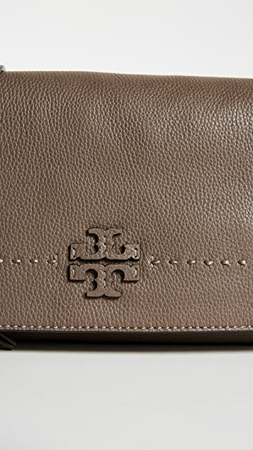 Mc Graw Fold Over Cross Body Bag by Tory Burch