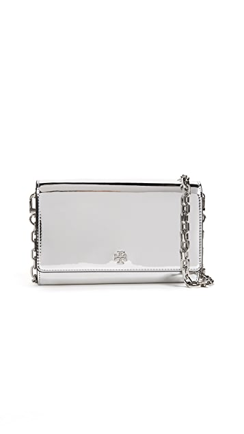 Tory Burch Robinson Chain Cross Body Bag