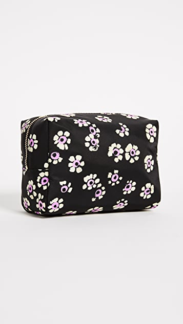 Tory Burch Printed Brigitte Nylon Cosmetic Case