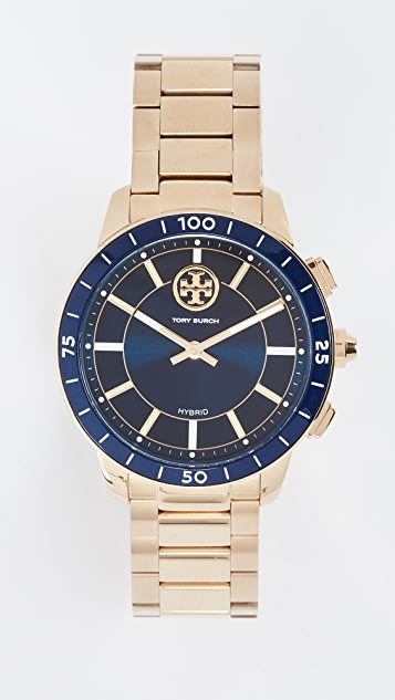 Tory Burch Collins Hybrid Watch, 38mm