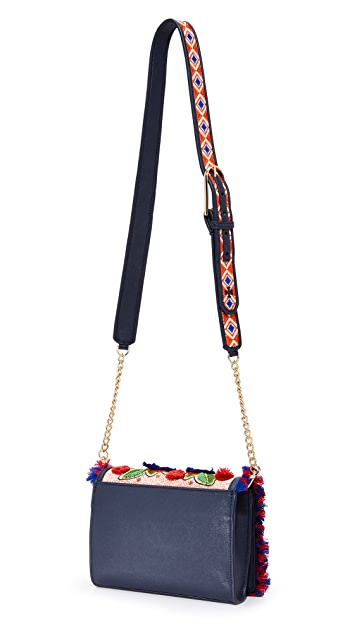 Tory Burch Floral Cross Body Bag