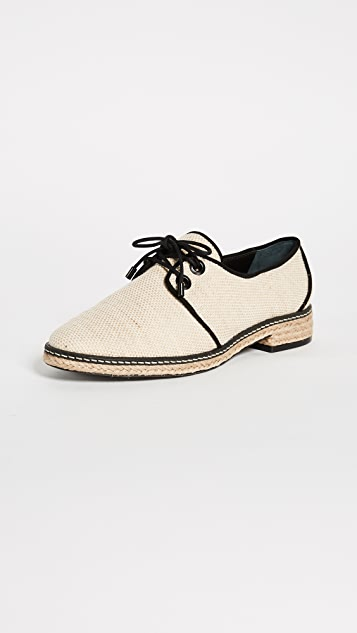 Tory Burch Fawn Oxford Espadrilles ...