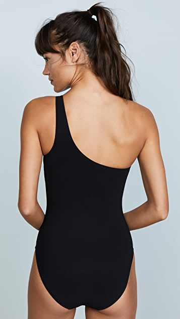 Tory Burch Gemini Link One Shoulder One Piece