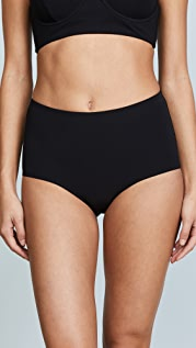 Tory Burch Solid High Waist Bottoms