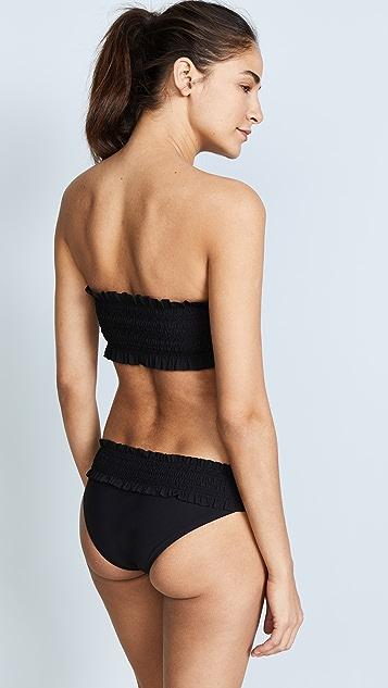 Tory Burch Costa Bandeau Bikini Top