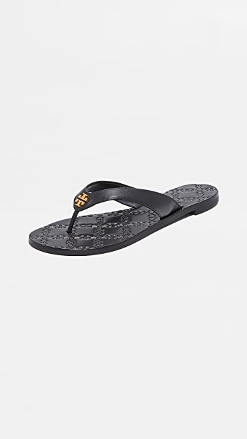 529899067c5 Tory Burch Monroe Thong Sandals
