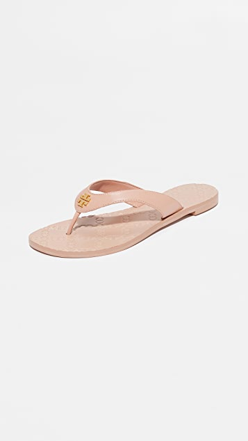 Tory Burch Monroe Thong Sandals ...