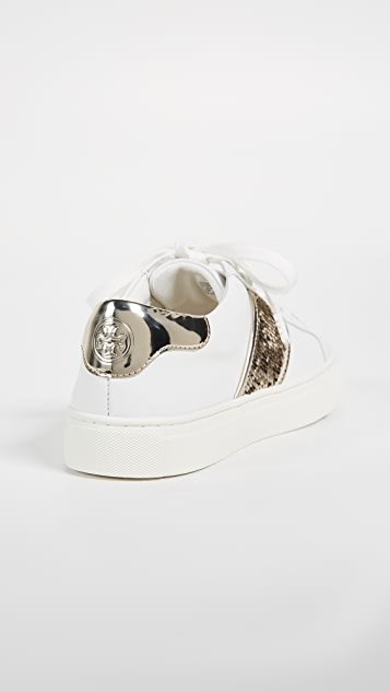 Tory Burch Carter Lace Up Sneakers