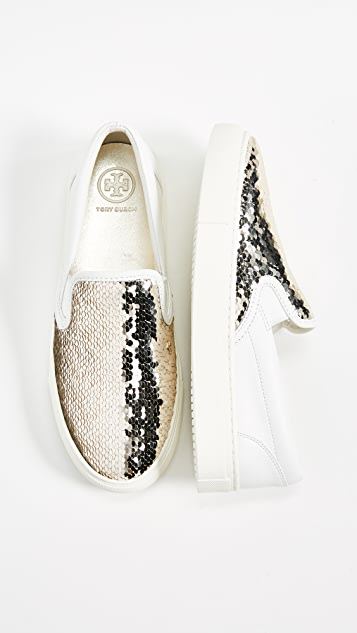 Tory Burch Carter Slip On Sneakers
