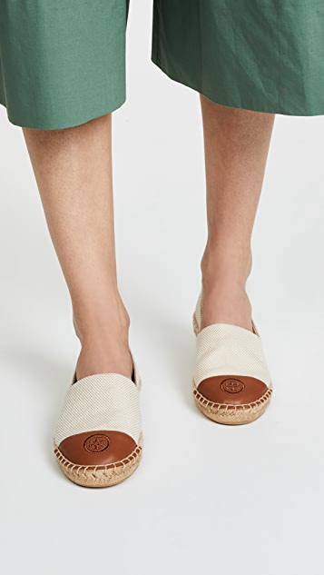 Tory Burch Colorblock Flat Espadrilles